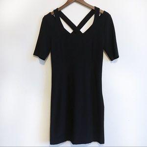 Boston Proper Little Black Dress Size 6